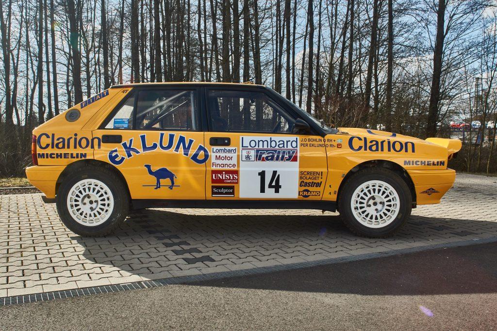 Lancia Integrale Gruppe A P. Eklund