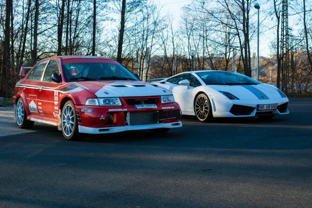 Mitsubishi VS Lamborghini